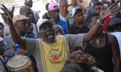 La rumba de luto en Cuba
