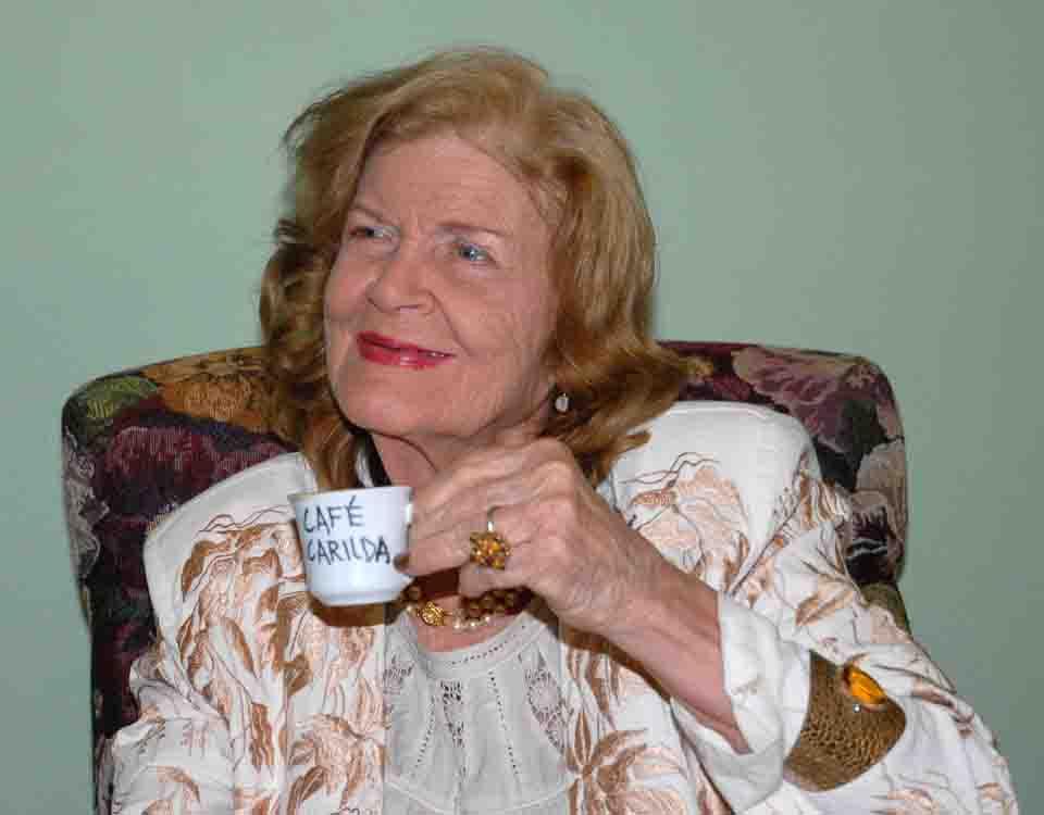 Es privilegio estar en Cuba, dice Carilda en sus 88 años
