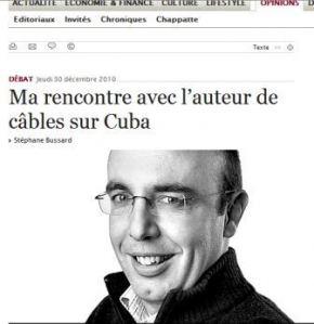 Wikileaks: Autogol en Suiza y silencio en La Habana