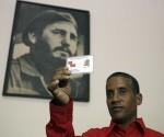 Carlos Serpa en la verdadera Unión de Periodistas de Cuba
